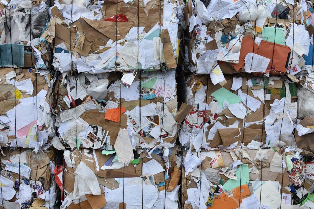 Recyclage de papier