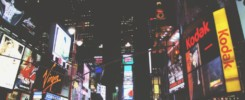 publicités à New York